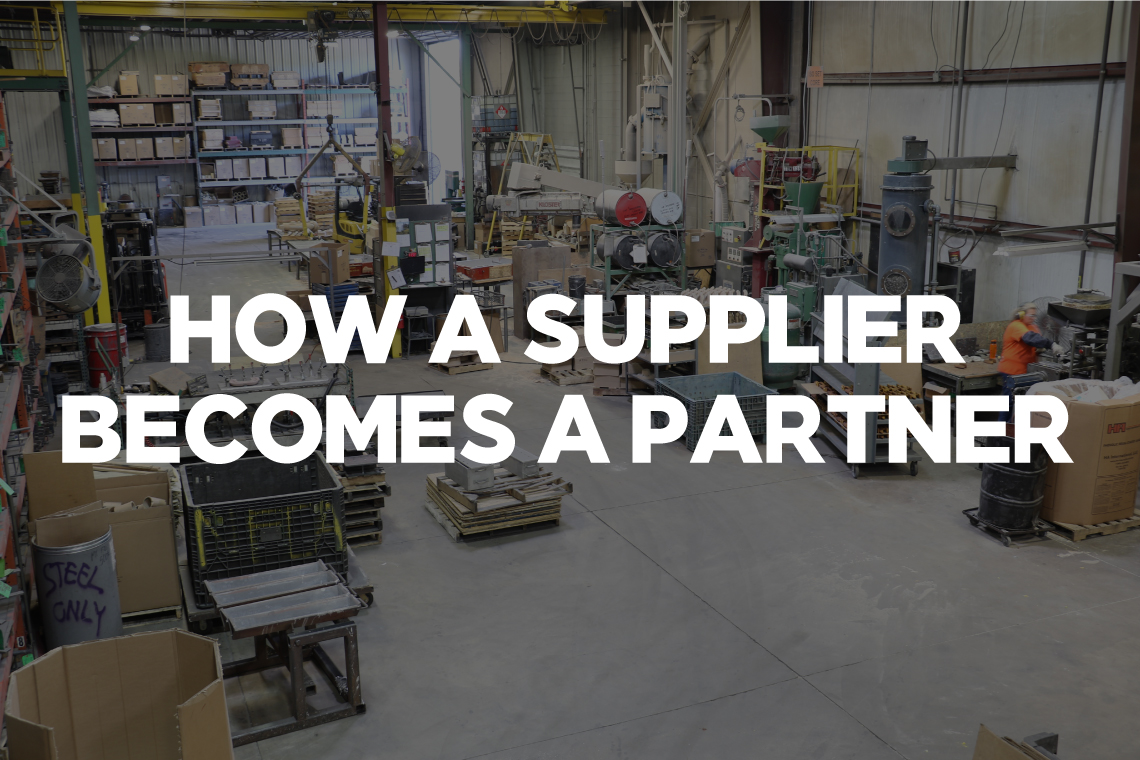 How a Supplier Becomes a Partner